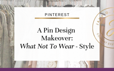 Pin Design Makeover – What Not To Wear Style